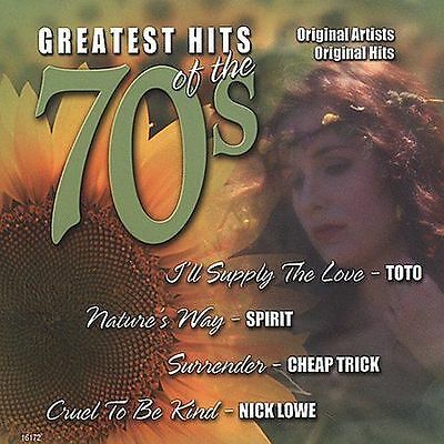 Various Artists : Greatest Hits of the 70s 10 CD