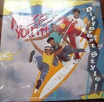 Musical Youth Different Style MCA Vinyl LP