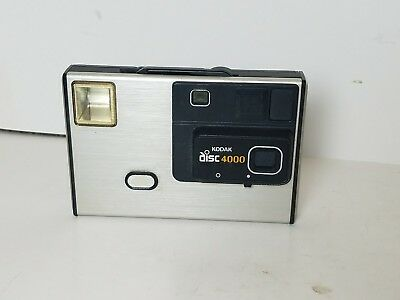 Kodak Disc 4000 Vintage Camera With Case Sold As Is