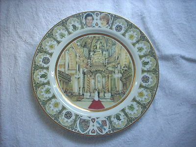 Prince Charles Lady Diana Wedding Limited Edition Westminster Australia Plate