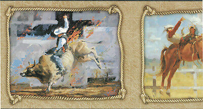 Roughstock Riders ART BORDURE PAPIER PEINT