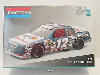 1991 HUT STRICKLIN #12 Raybestos Buick Regal Nascar Monogram #2431