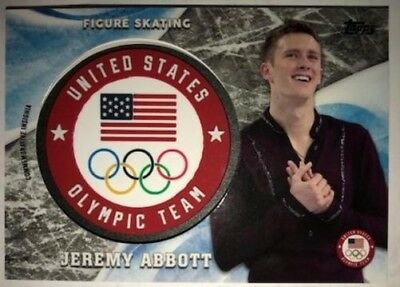 2018 Topps US Winter Olympiade usoc Insignia Relics Flagge zur Auswahl Liste /
