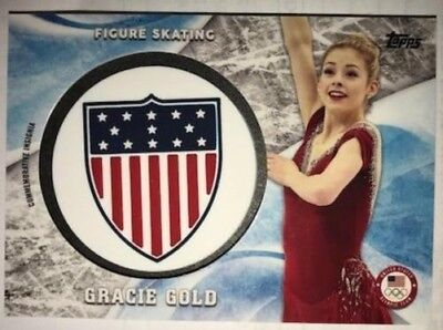 2018 Topps US Winter Olympiade usoc Insignia Relics Silber zur Auswahl Liste /