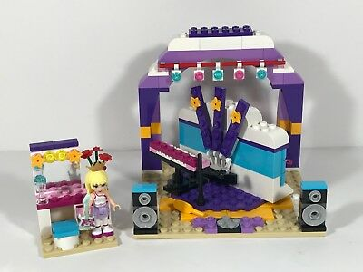 LEGO FRIENDS 41004 Rehearsal Stage Complete With Stephanie & Manual ...
