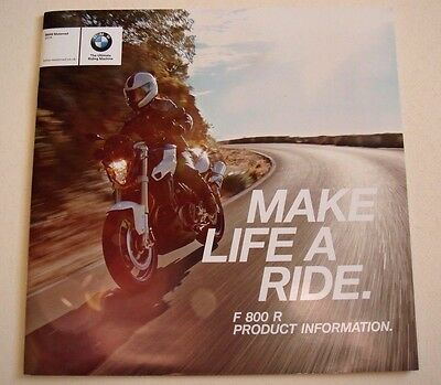 BMW . F 800 R . 2016 Sales Brochure