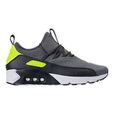 Men's Nike Air Max 90 EZ Casual Shoes Cool Grey/Volt/Anthracite AO1745 003