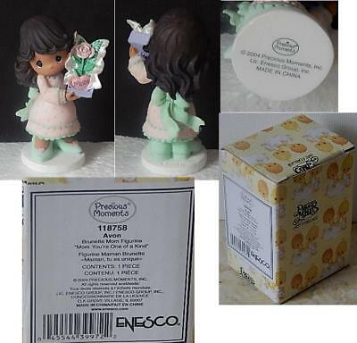 Avon 2004 Enesco Precious Moments Mom You're One Of A Kind Girl New w/ Box