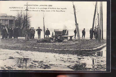 CPA  ALFORTVILLE  Inondations 1910