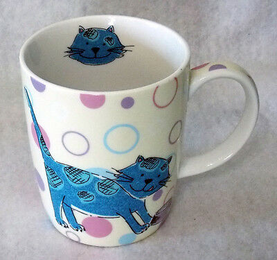 Cat Lovers Mug Cup Johnson Brothers Porcelain Large 14 Oz. New Free Ship