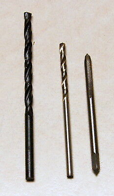 USA Shipping - M3 Tap and 2.5mm 3.3mm Drill Set