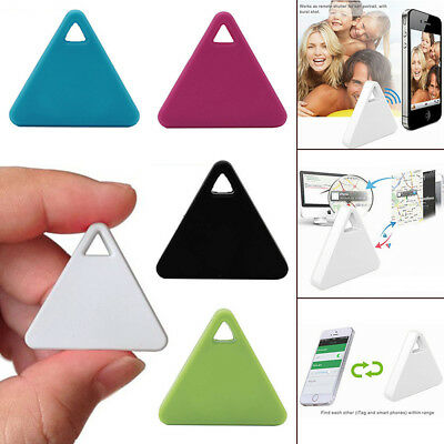 SPY Tracking Finder Device Car Motorcycle Pets Kids Tracker Triangle & White