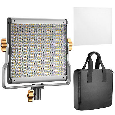 Neewer Dimmable Bi-color 480 LED Video Light with U Bracket ,3200-5600K,CRI 96+