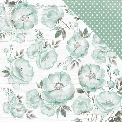 "Kaisercraft Memory Lane - MISTY ROSE - 12x12"" D/sided Scrapbooking Paper"