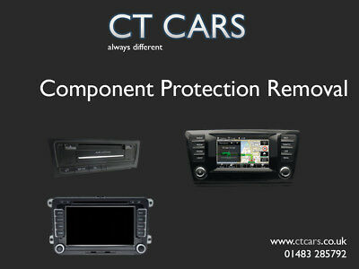 Volkswagen Audi Seat Skoda component Protection removal