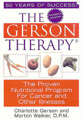 The Gerson Therapy, Charlotte Gerson