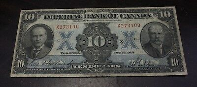 1923 $10 The Imperial Bank of Canada  CH- 375-18-08 - F