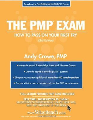 The pmp exam flash cards test prep series by andy crowe 4157 the pmp exam how to pass on your first try test prep series fandeluxe Image collections