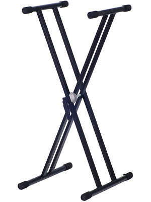 KEYBOARD STAND - Double Braced Heavy Duty 'X' Frame