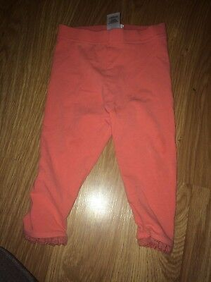 Next Baby Girl 12-18 Months Pink Leggings (Ex Cond)