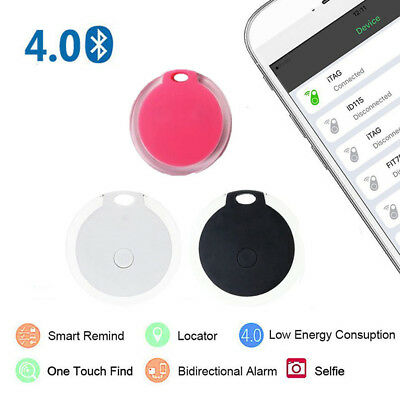 Smart Bluetooth Tracker Anti-lost Child Pet Wallet Key Finder Locator Alarm
