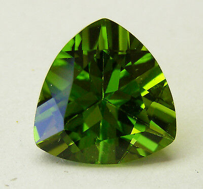 7.84ct!! PERIDOT- NATURAL UNTREATED- EXPERTLY FACETED IN GERMANY +CERT AVAILABLE