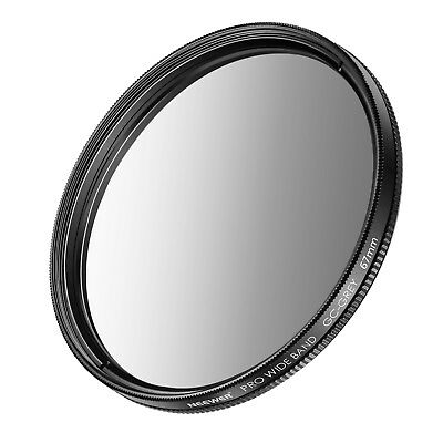 Neewer 67mm Graduated Grey Neutral Density ND Filter for Canon Rebel T5i T4i T3i