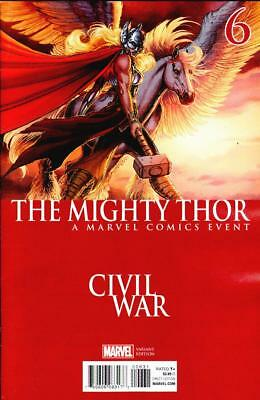 Mighty Thor #6 Civil War Variant All New All Different Marvel 2016