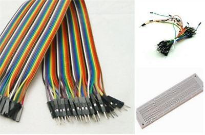 BREADBOARDSYB-130+40PCS Jumper Wire For Arduino Dupont CABLE+65PCS New Ic ic