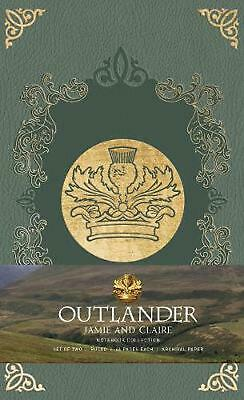 Outlander: Notebook Collection: Jamie and Claire by Insight Editions Free Shippi