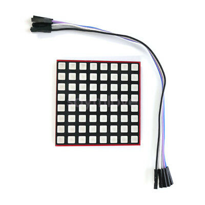 RGB LED Full Color Display Screen 8x8 8*8 Dot Matrix Module for Raspberry Pi 3/2