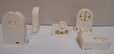 X10 Replacement T8 Snap In Tombstone Fluorescent Lamp Holders / Sockets