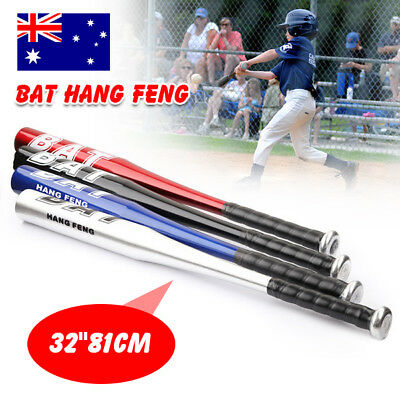 "32""81CM Aluminium Baseball Bat Racket Softball Outdoor Sports Brand New AU"