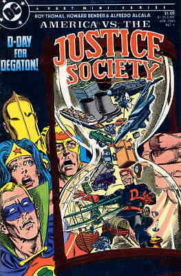 America vs. the Justice Society #4 VF; DC | save on shipping - details inside