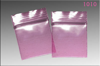 Zip Lock baggies 1.0 x 1.0 (1000/pack) - Purple