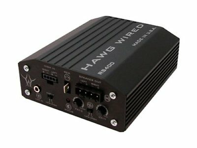 Hawg Wired RS400 Reference Series 400W Amplifier For Harley FLHT FLHX FLTR