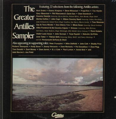 LP Nick Drake, Tim Hardin, Dave Swarbrick a.o. The Greater Antilles Sampler