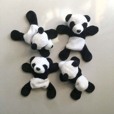 1Pc Plush Panda Fridge Magnet Refrigerator Sticker Gifts Souvenir Decor Divine
