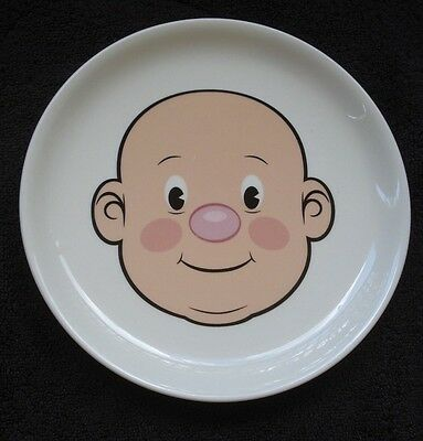 """Fred Plays With His Food Ceramic Nostalgic Face Plate 8.5"""" EUC"""