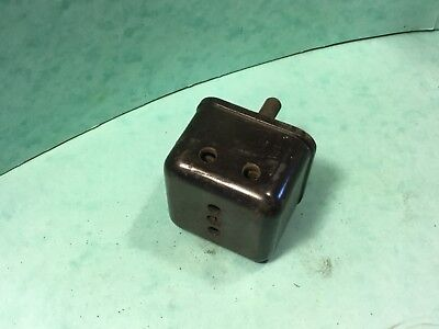 House restoration electric Crabtree brown Bakelite plug , vintage house display