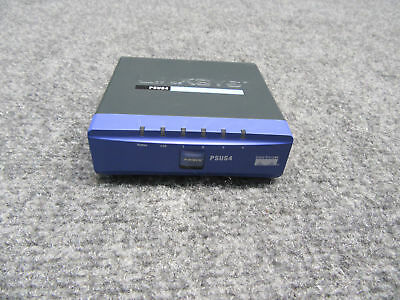 Linksys PSUS4 PrintServer For USB w/ 4-Port Switch