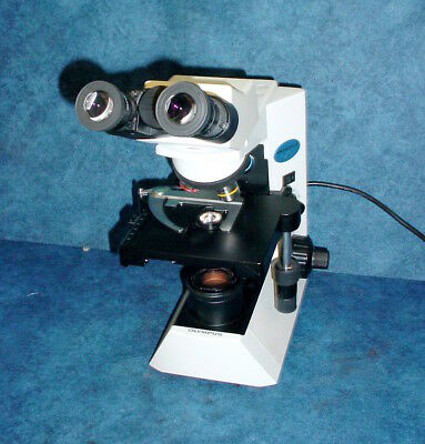Olympus CX-31 CX31RBSF Binocular Biological Microscope w/3 Objectives #5