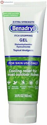 Benadryl Itch Relief Gel, Extra Strength, 3.5 Ounce