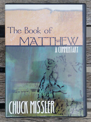 MATTHEW COMMENTARY by CHUCK MISSLER, 30 hrs of MP3s + PDF