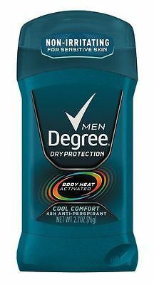 Degree Men Deodorant Invisible Stick Cool Comfort 2.70 oz: 3 packs