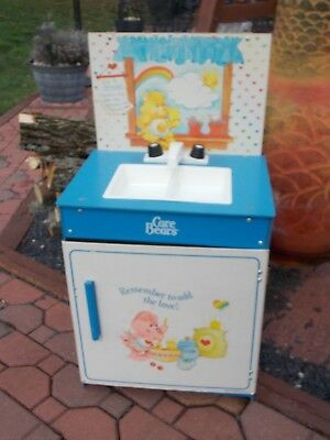 Vintage Care Bears Friends Kitchen SINK Playset Child Size Furniture