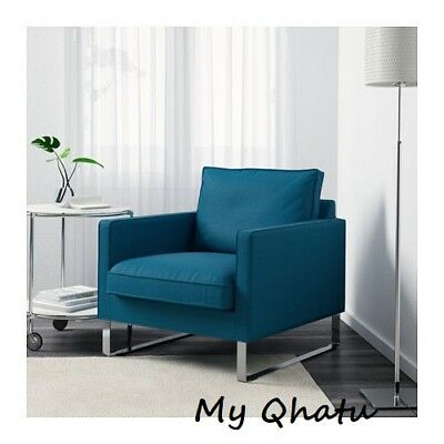 Fabulous Ikea Mellby Armchair Chair Cover Slipcover Skiftebo Turquoise 103 238 44 New Interior Design Ideas Ghosoteloinfo