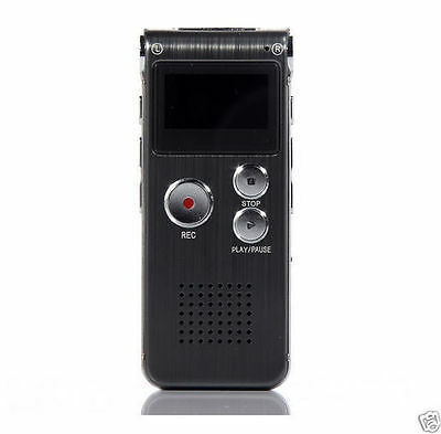 8 GB Digital EVP VOICE RECORDER Flash Memory Ghost Hunting Paranormal Equipment