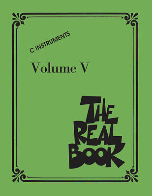 The Real Book Vol. V - C Edition 240349
