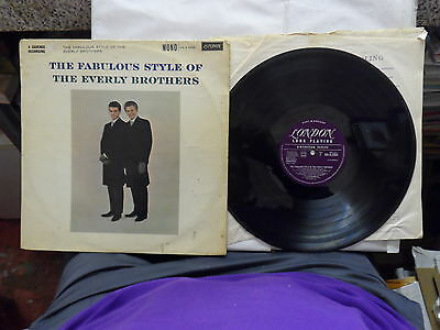 Job Lot Of 4 Lp Records Everley Brothers  Its Everley Time /  Fab.greatest Elvis
